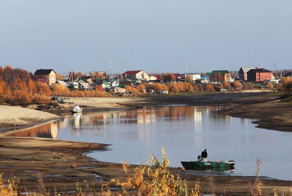 Salekhard, la seule ville sur le cercle polaire
