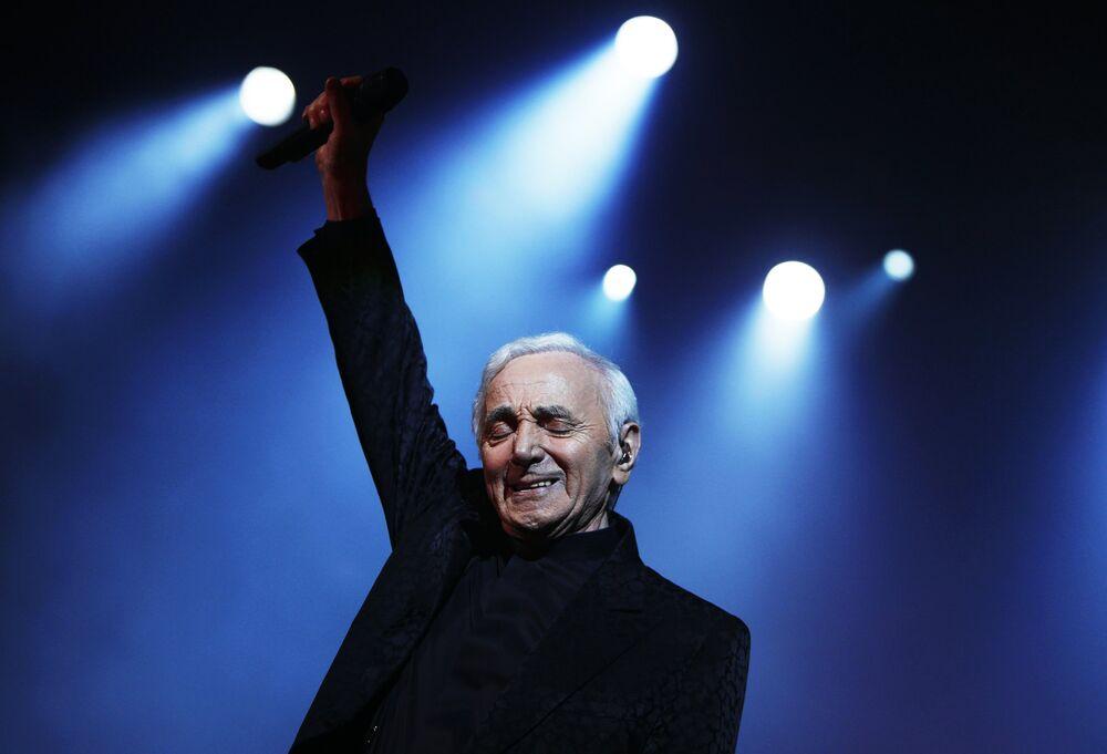 L'amour éternel de Charles Aznavour