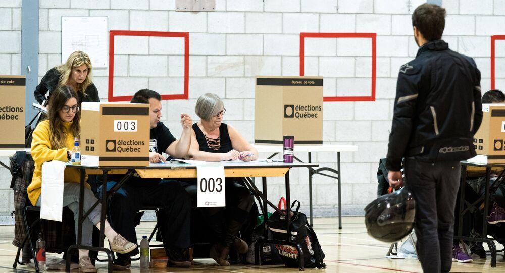 élection au Québec