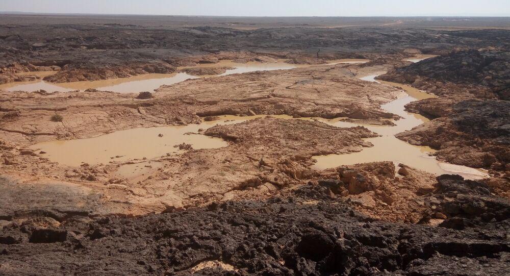 L'armée syrienne lutte contre Daech dans les roches volcaniques du désert de Soueïda