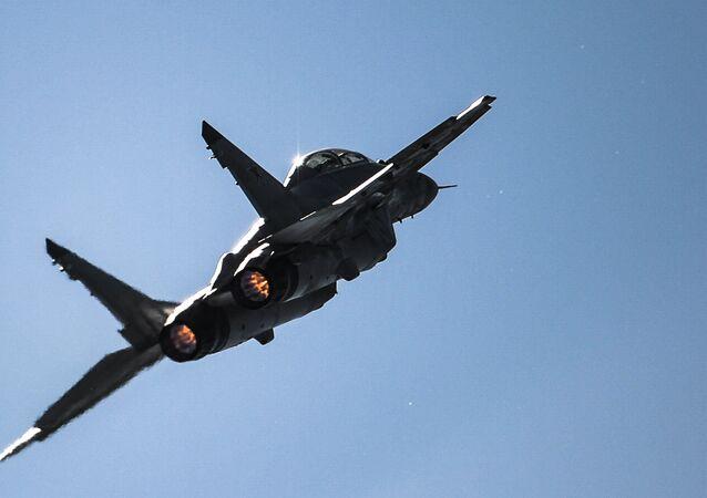 Das russiche Kampflugzeug MiG-29