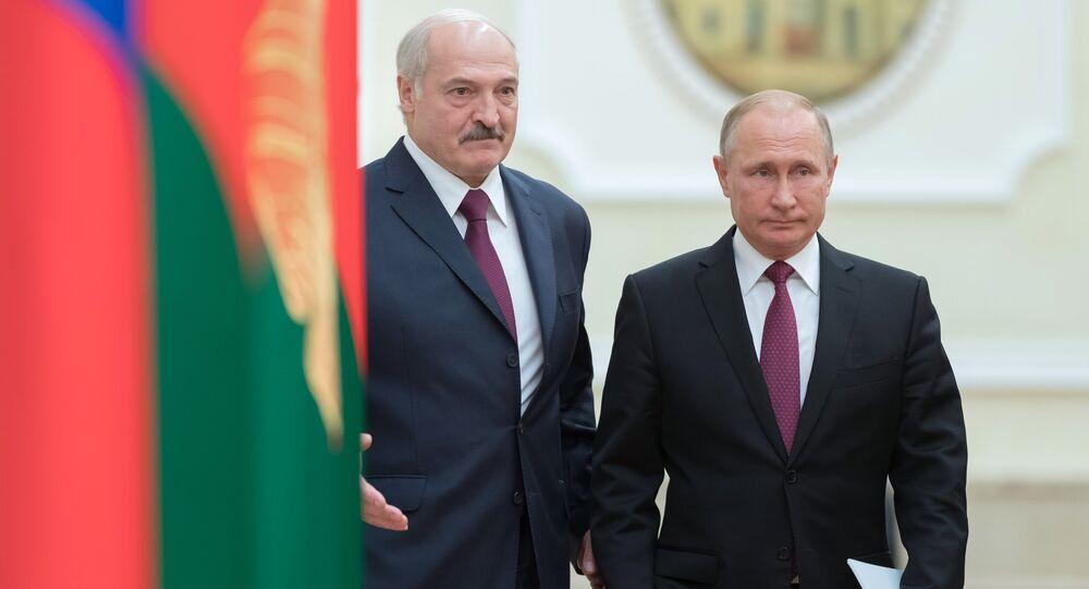 Loukachenko et Poutine