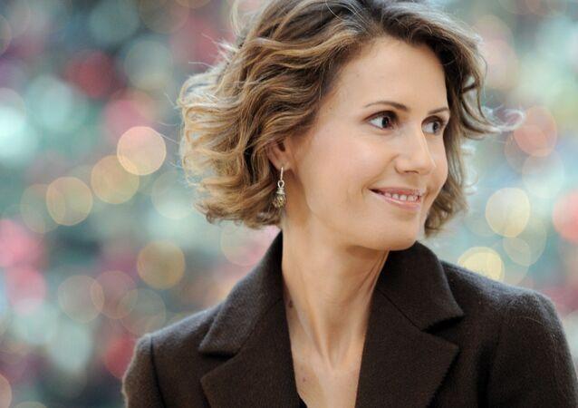 Asma Asad, primera dama de Siria