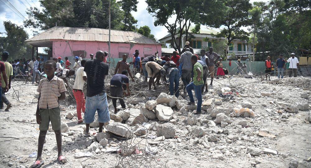 Conséquences du séisme qui a frappé Haïti le 7 octobre 2018