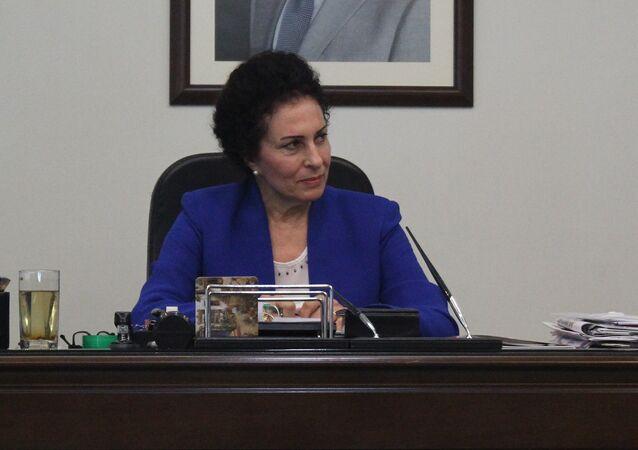 Salwa Al-Abdullah, ministre syrienne du Développement social et du Travail