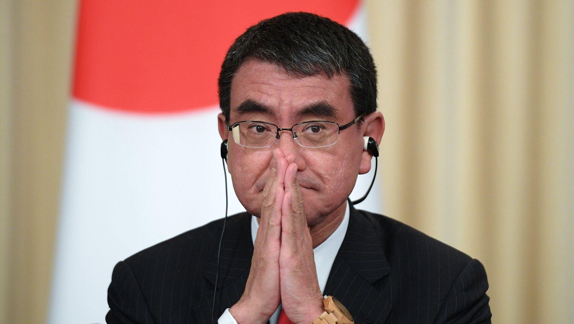 Le ministre japonais chargé de la lutte contre le COVID-19, Taro Kono - Sputnik France, 1920, 10.09.2021