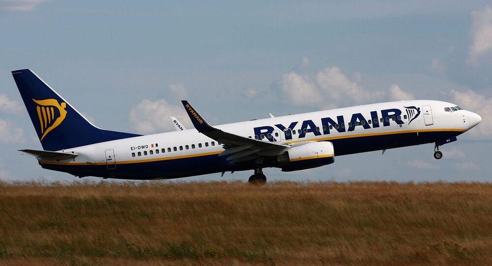 Un avion de Ryanair