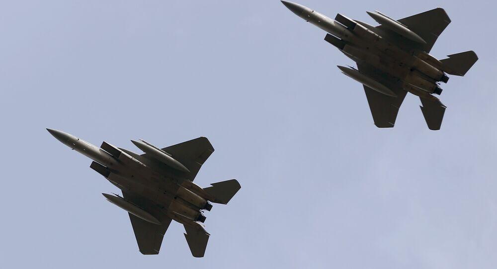 Des F-15C américains (archive photo)