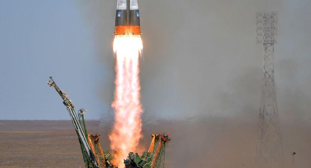 Une fusée Soyouz (image d'archive)