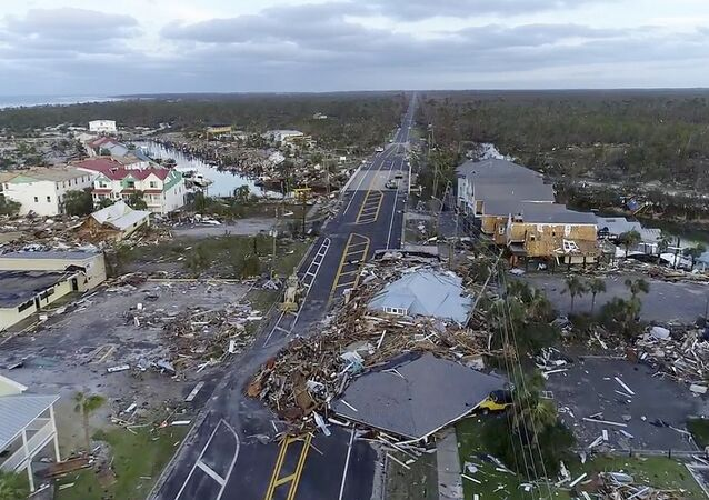 Les dommages causés par l'ouragan Michael