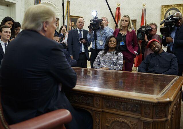 Donald Trump et Kanye West