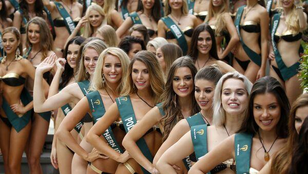Les candidates au concours Miss Terre 2018 - Sputnik France