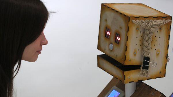 Un robot exposé au salon Skolkovo Robotics (image d'illustration) - Sputnik France