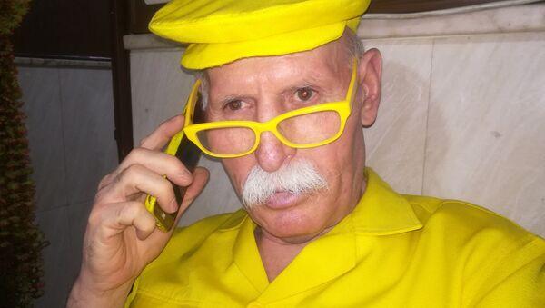 L'homme en jaune - Sputnik France