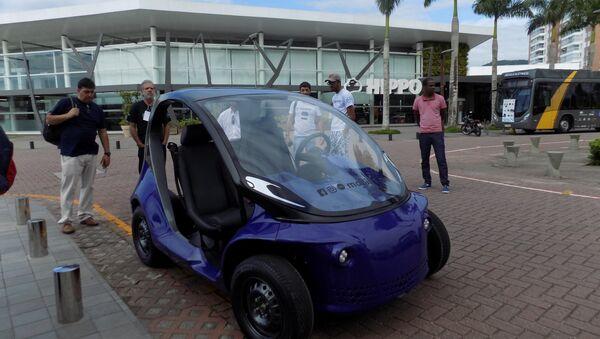 Li, première électromobile de production brésilienne à 100% - Sputnik France