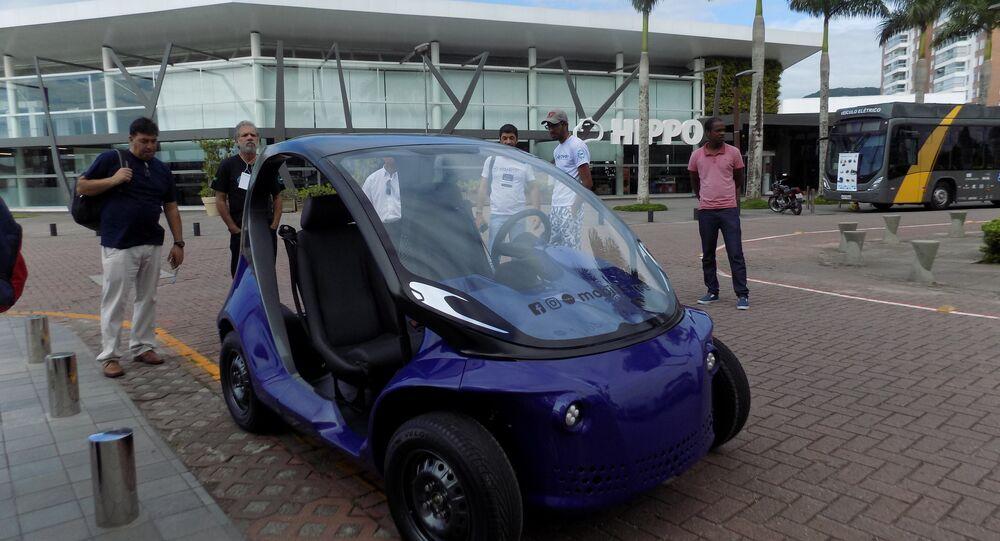 Li, première électromobile de production brésilienne à 100%