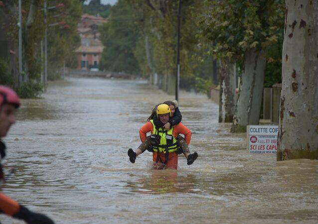 Pluies et inondations dans l'Aude