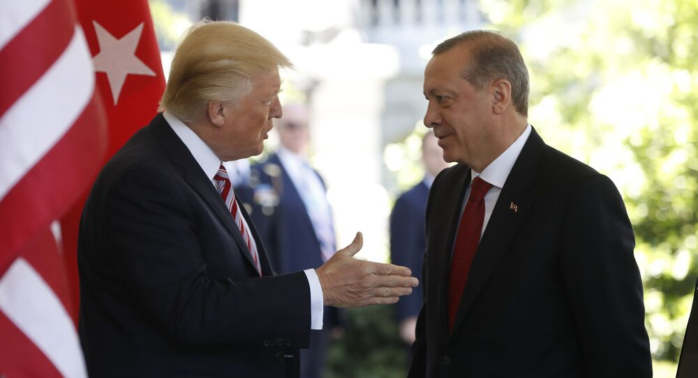Donald Trump et Recep Tayyip Erdogan (image d'illustration)