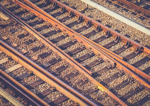 Chemin de fer. Image d'illustration