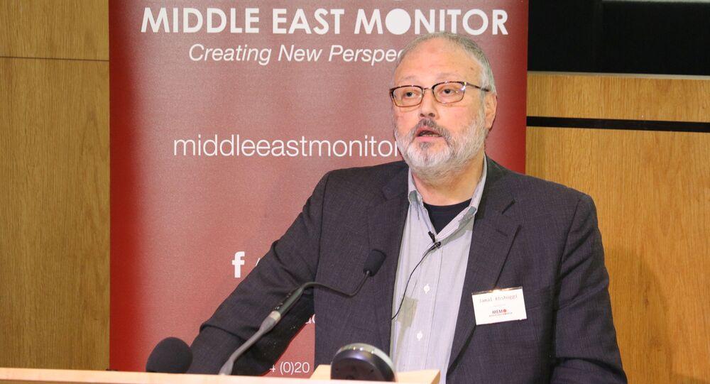 Jamal Khashoggi, journaliste saoudien