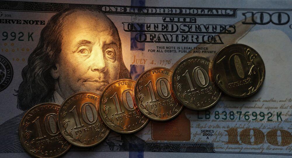Roubles et dollars