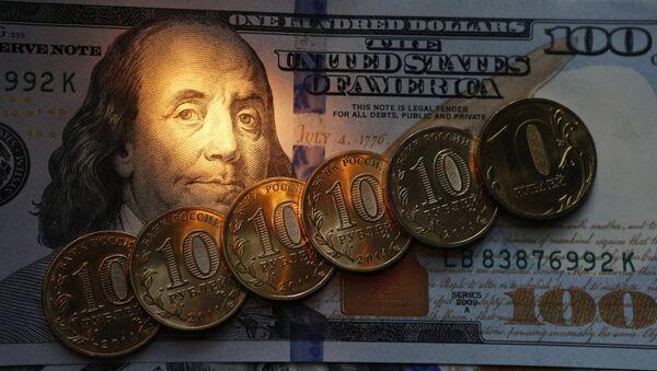 Рубли и доллары - Sputnik France