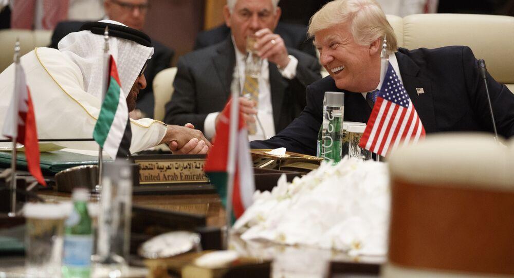 Donald Trump et Mohammed bin Zayed Al Nahyan (image d'illustration)
