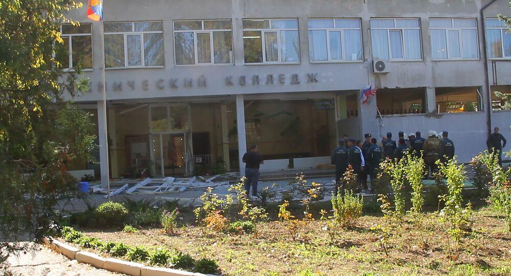 Le collège polytechnique à Kertch
