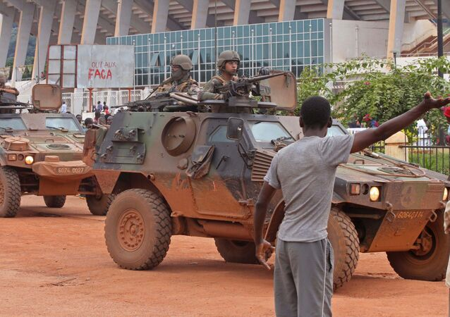 Soldats français dans la République centrafricaine (archives)