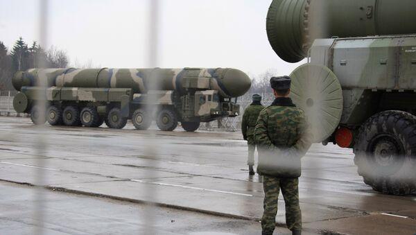 Missiles stratégiques russes Topol - Sputnik France