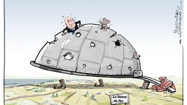 Le Dôme de fer ne couvre pas l'ensemble du territoire israélien - Sputnik France