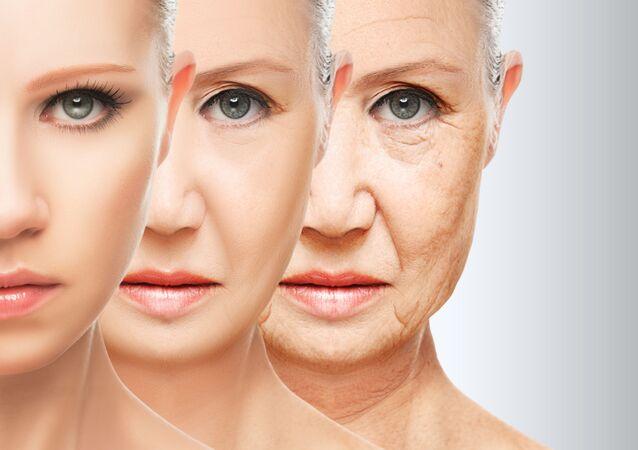 Стадии старения кожи
