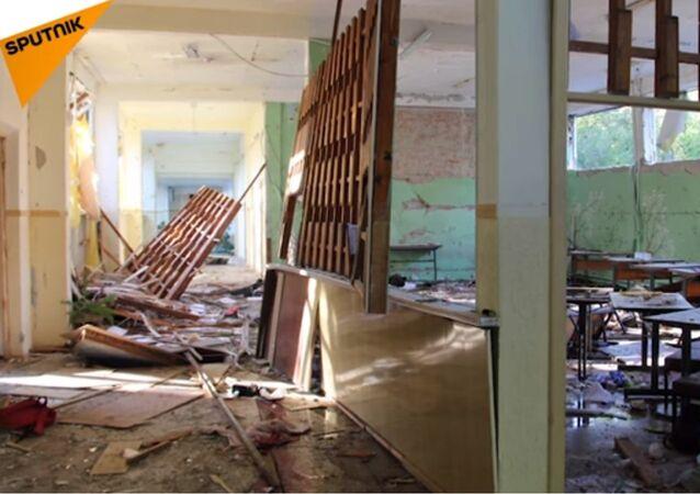 Les premières images du lycée de Kertch après l'attaque du tireur