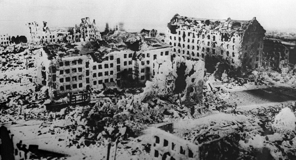 La ville de Stalingrad pendant la Seconde Guerre mondiale