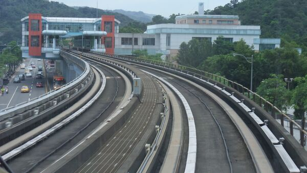 Chemin de fer à Taïwan (archives). - Sputnik France