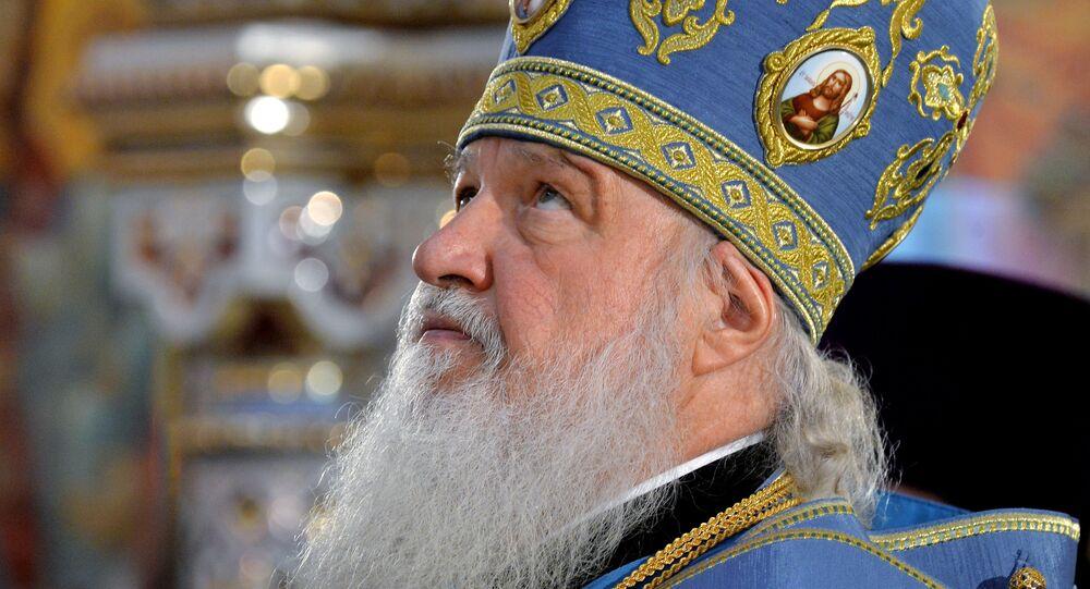 Patriarche Cyrille de Moscou et de Toutes les Russies