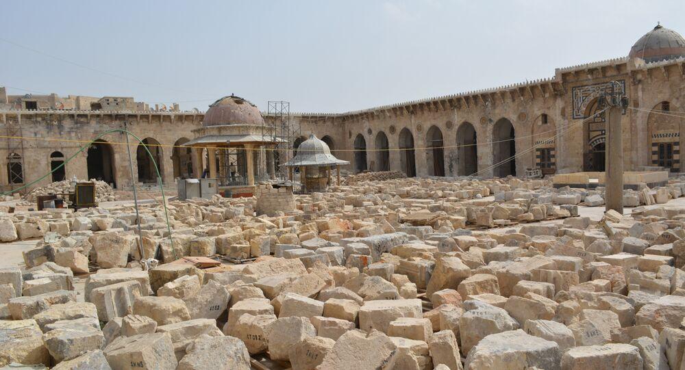 Grande mosquée d'Alep