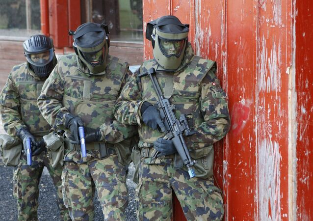 Des militires suisses