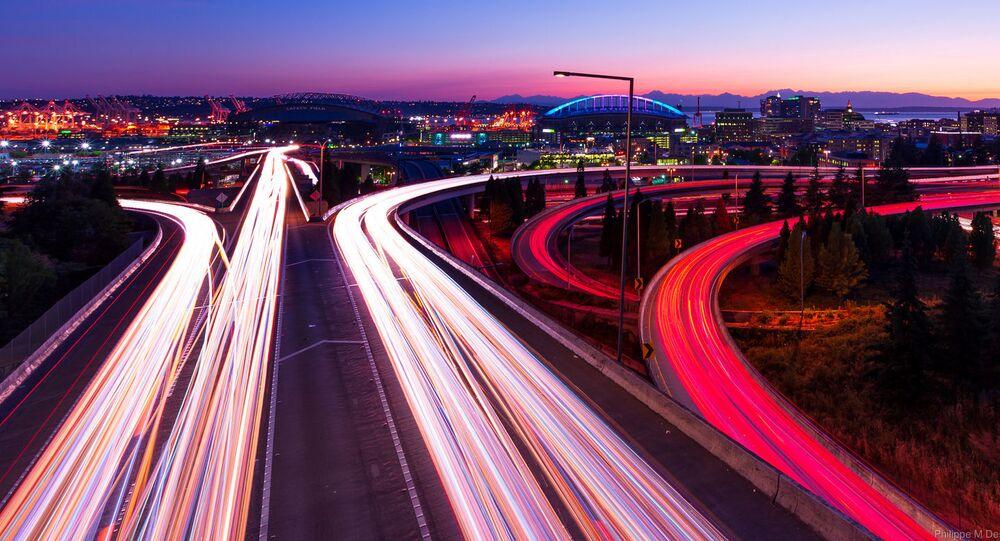 Une autoroute à Seattle