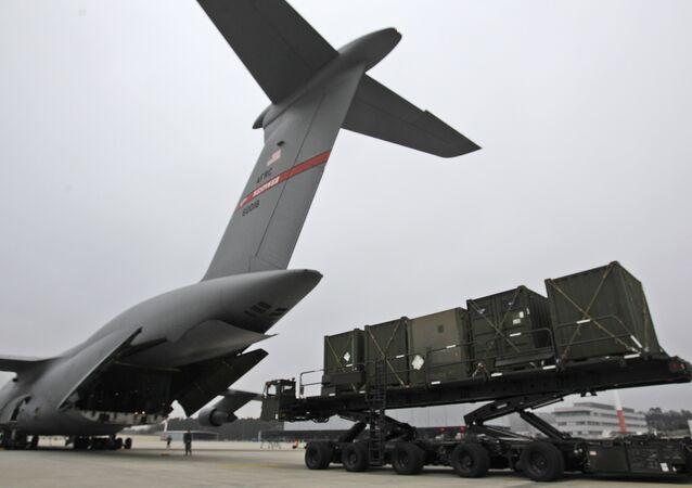 La base de l'US Air Force à Ramstein (archive photo)