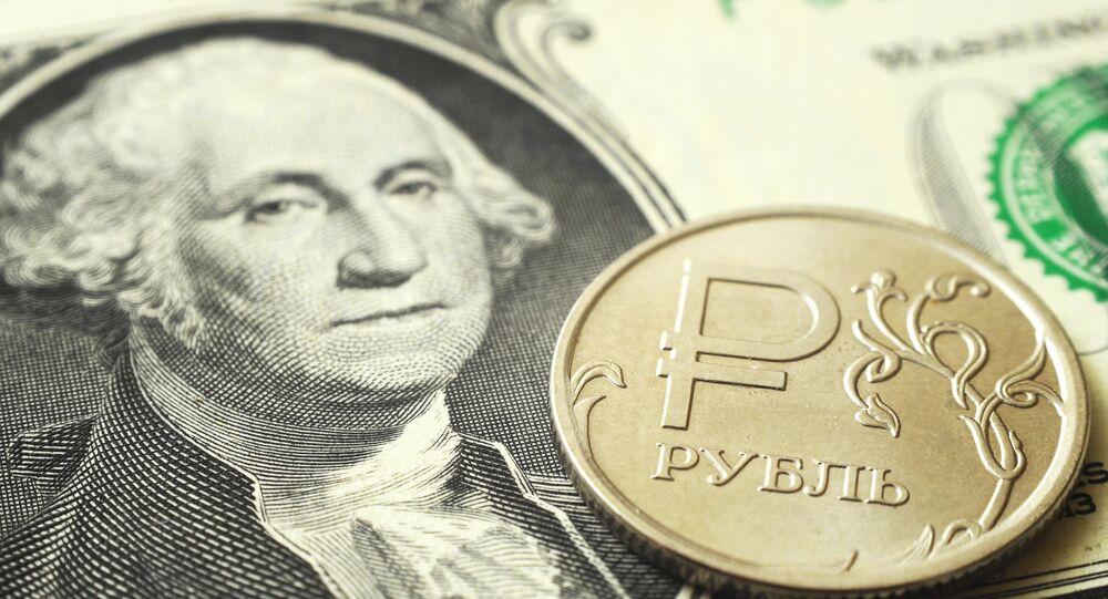 Rouble et dollar