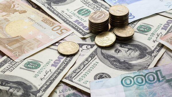 Rubel, US-Dollar, Euro - Sputnik France
