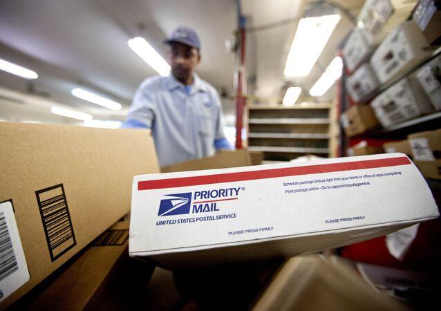 Colis de l'US Postal Service