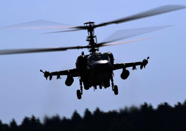 Un hélicoptère Ka-52 (image d'illustration)