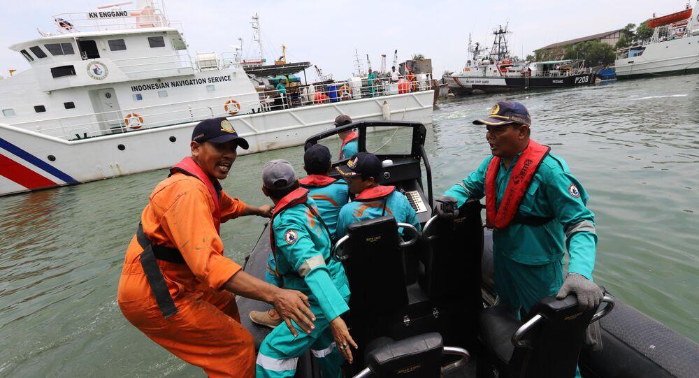 Crash d'un Boeing au large de l'Indonésie