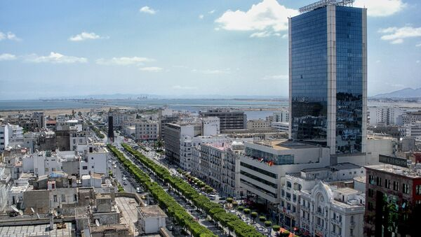 Avenue Habib Bourguiba à Tunis (image d'illustration) - Sputnik France