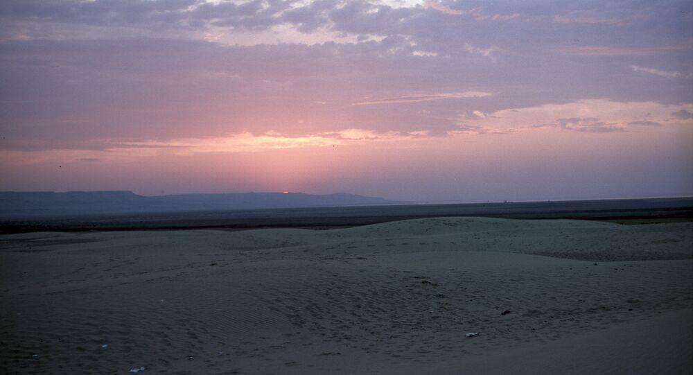 L'ancien fond de la mer d'Aral