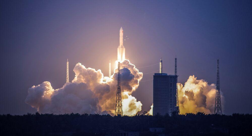 Lancement d'une fusée chinoise