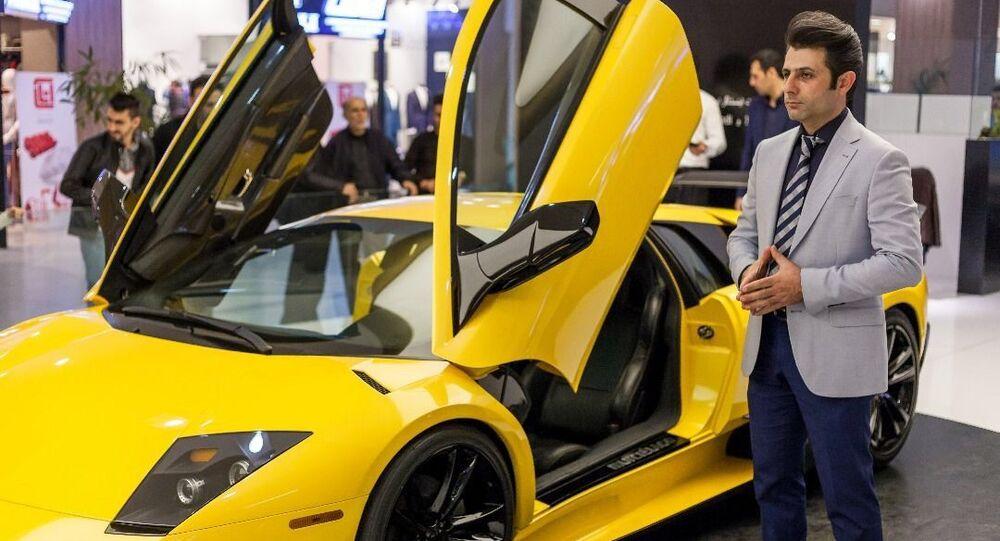 Une Lamborghini «made in Iran»