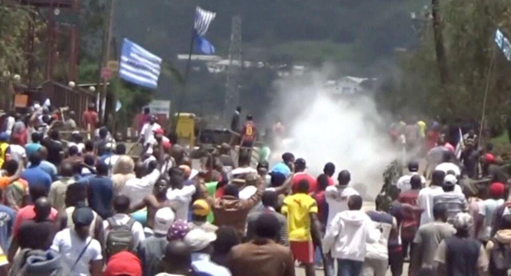 Situation à Bamenda, Cameroun. Photo d'archive